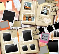 Photo album clipart