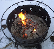 Easter Sunrise campfire 2015-04-06 at 07.25.54