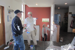 Painting narthex, March 2016 2