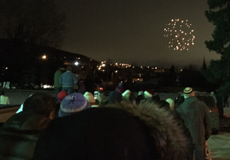 Light Up 2017 fireworks, from SAUC