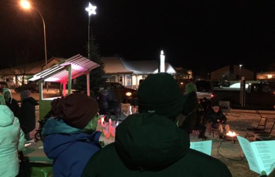 Live Nativity 2017 singing
