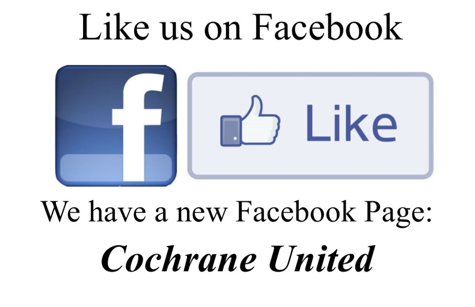 Cochrane United Facebook